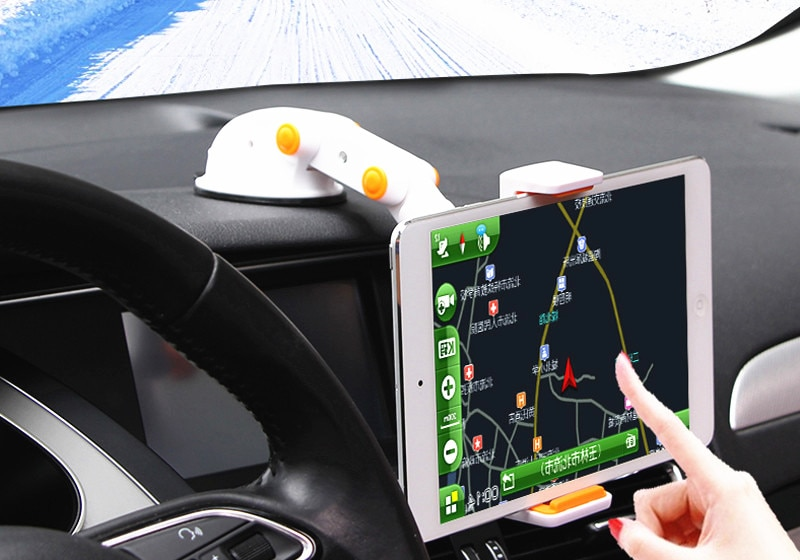 Clip plegable ajustable, ventosa rotativa para ventana, tableta GPS, soporte para teléfono móvil, soporte para coche, soporte para salpicadero, soporte de mesa para teléfono móvil