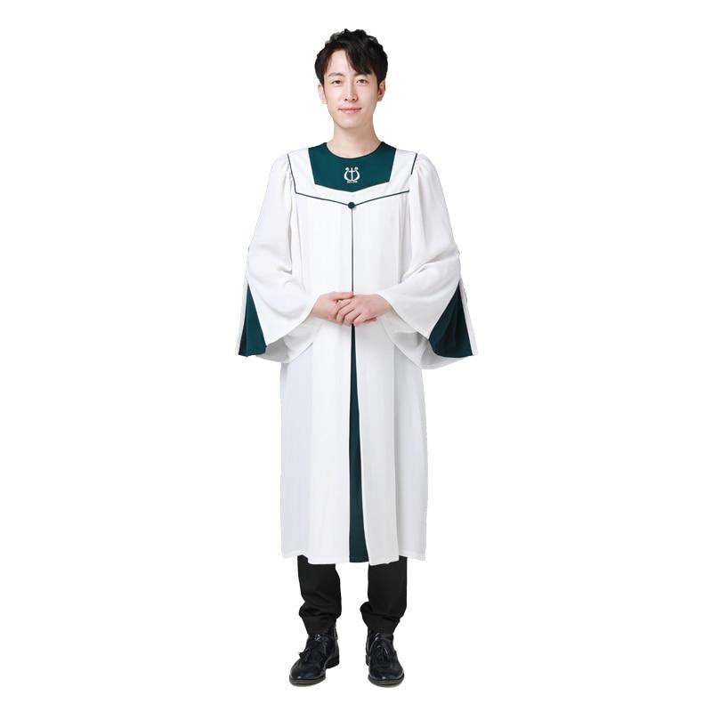 4 estações Unisex Senhor Jesus Christian sagradas vestes robe batismo roupas coro hino materiais de Alta qulity vestido de Coro da igreja