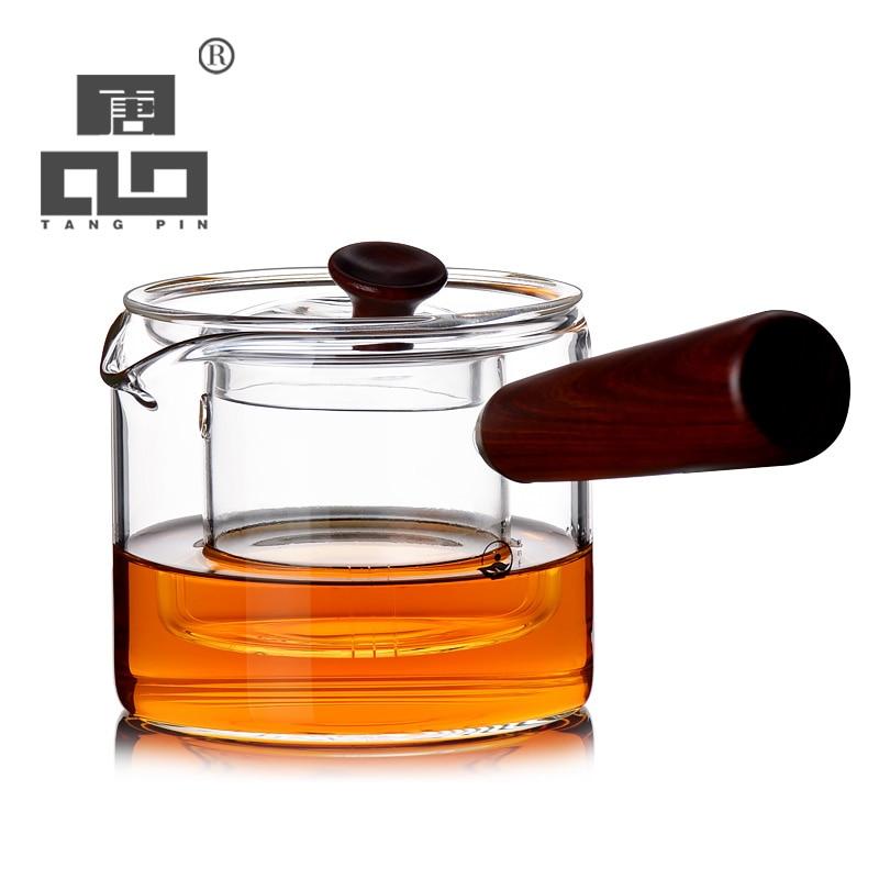 TANGPIN набор посуды для кофе и чая, термостойкий японский стеклянный чайник, стеклянный чайник для пуэр