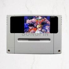 Final Fight 1/2/3 16 bit 46 Pin Super Game Cartridge voor PAL Versie Game Console