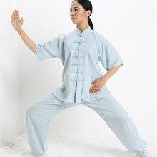 Tai Chi Uniforme Abbigliamento Qi Gong Arti Marziali Wing Chun Shaolin Kung Fu Taekwondo Panni Abbigliamento Pantaloni Abbigliamento per Gli Uomini donne