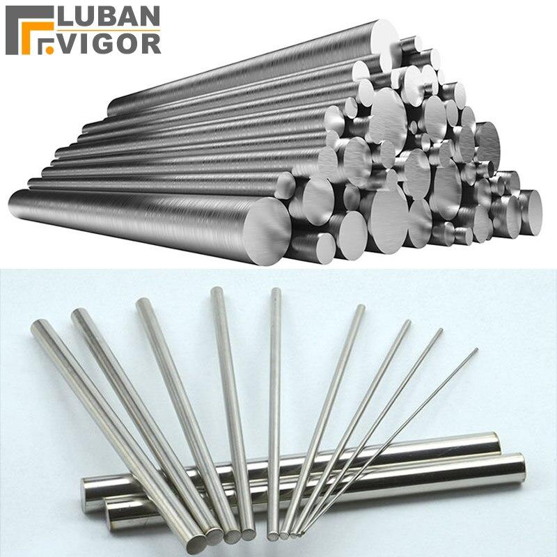 منتج مصنع حسب الطلب ، الفولاذ المقاوم للصدأ 316l قضبان مدورة/قضيب ، S25 ، 250 مللي متر طول ، 3 قطعة ، السفينة إلى الولايات المتحدة الأمريكية