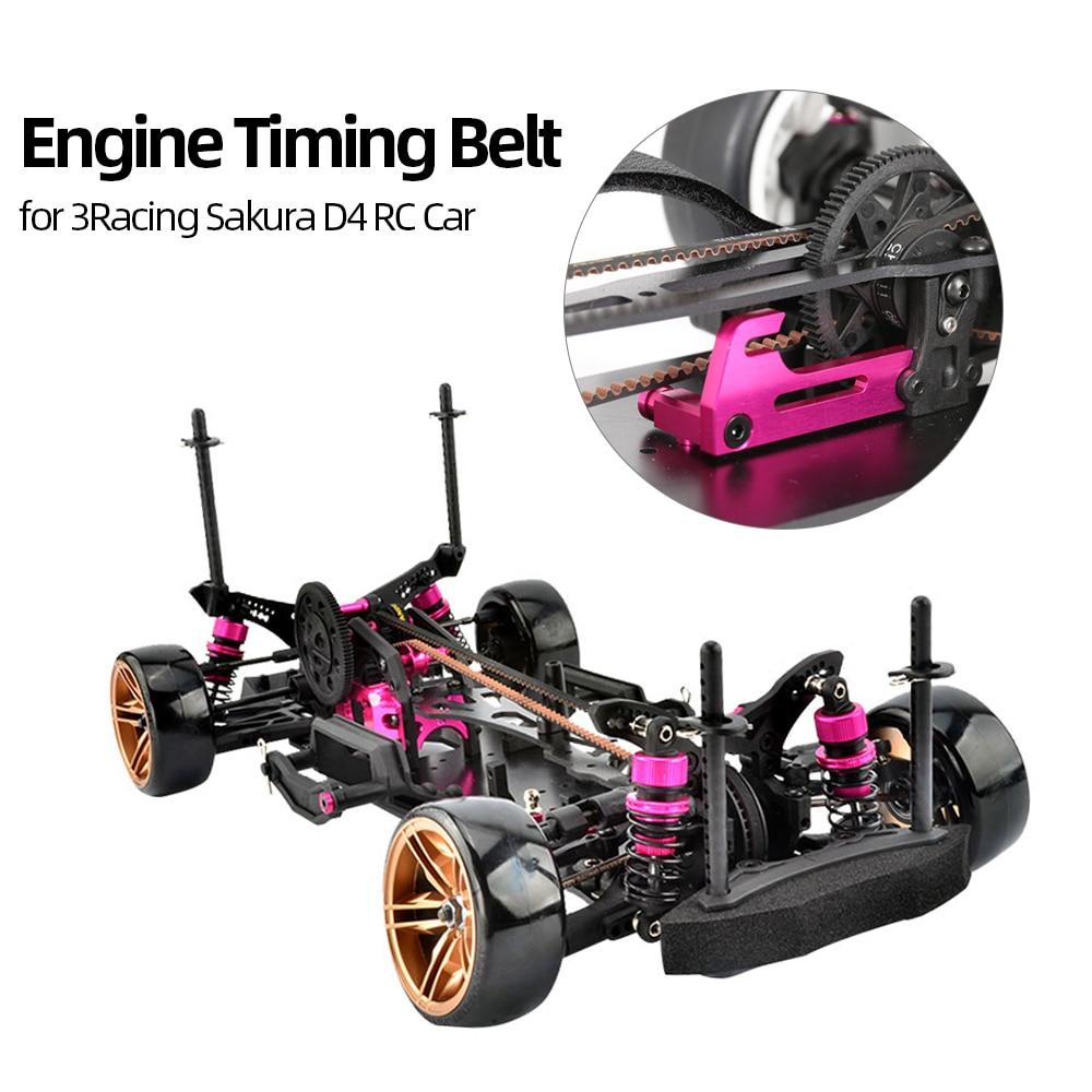 Engine Timing Belt RC Synchronous Belt for 3Racing Sakura D4 RC Car
