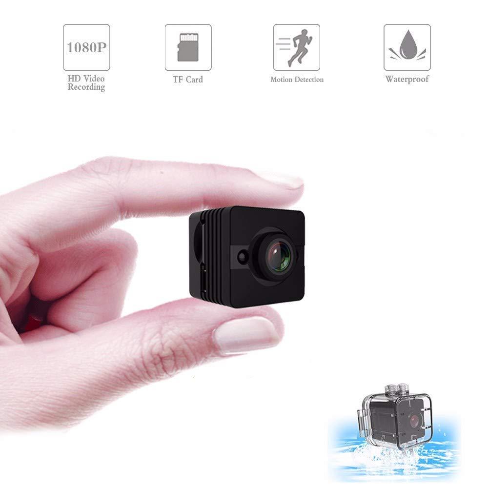 SQ12 Mini cámara pequeña 1080P visión nocturna Mini videocámara DVR infrarrojo Monitor grabadora deporte Mini cámara