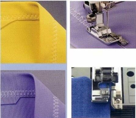 Prensatelas superfundidas 2 uds 7310G para máquina de coser de caña baja doméstica Brother Singer para Janome ETC