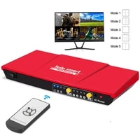 hdmi switch 4 in 1 out 1080p60hz with pap function seamless routes 4 full hd sources to 1 full hd display hdmi