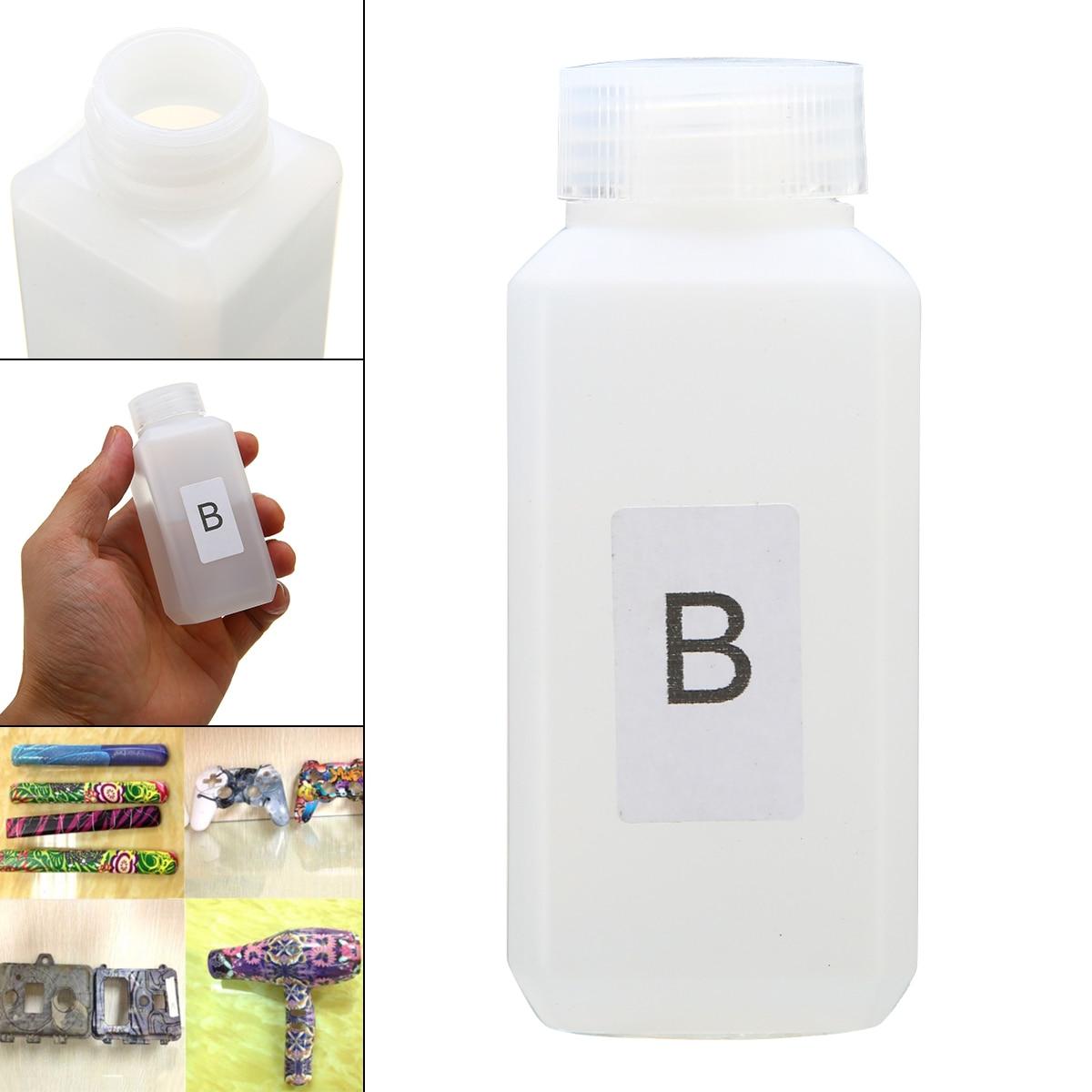 1 бутылка 50 мл, Активатор B Dip Water-transfer, пленочный активатор для переноса воды, пленка для печати