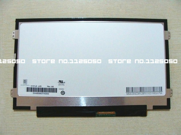 Para ACER D255E D257 D260 ZH9 ZE6 Laptop LCD LED Tela LP101WSB N101L6-L0B B101AW06 LTN101NT05 N101LGE-L41 N101L6-L0D HSD101PFW4