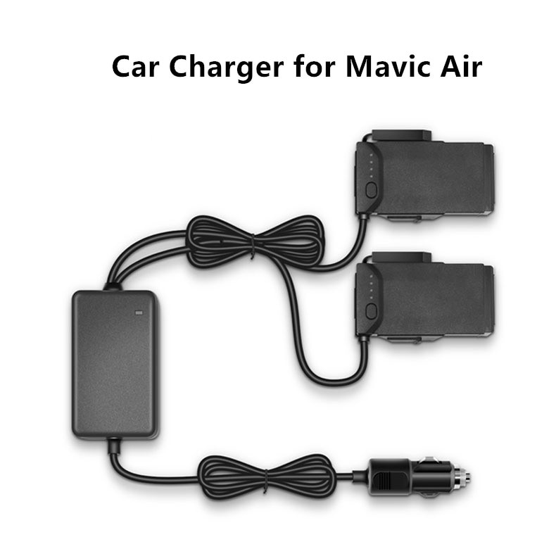 Cargador de coche Drone batería de carga rápida cargador de viaje cargador de transporte al aire libre para DJI Mavic batería de vuelo aéreo