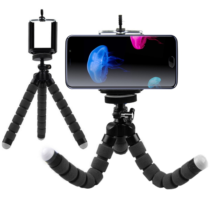Flexible Octopus Leg Phone Holder Stand Support Mobile Tripod for Elephone U / U Pro C1 C1X S7/S7 Mini R9 S3 Lite M3 P9000 Lite