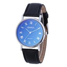 NEW Top Fashion Luxury Brand Bracelet Watches Women Men Casual Quartz Watch Leather Wrist Wat Clock