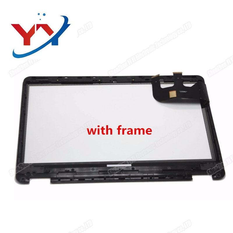 "5PCS 13.3""LCD Screen Touch Digitizer +Bezel  Transformer Book Flip TP301 TP301U TP301UJ TP301UA TP301UA-DW"
