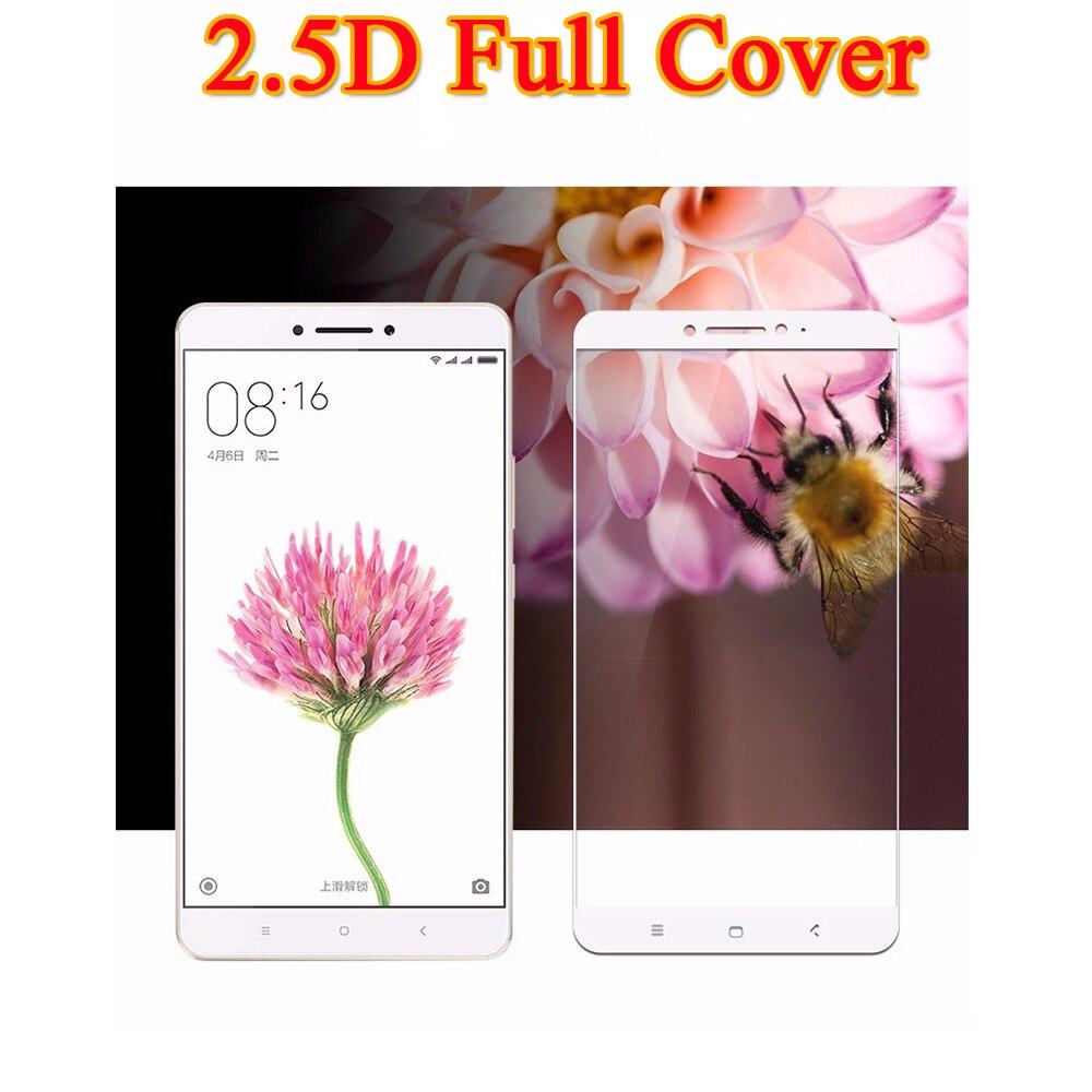 2.5D 9 H Gehärtetem Glas Für Xiaomi Mix 2 Full Cover Schutz Film Für Xaomi Mi Max 2 Mimix Mimax2 Displayschutzfolie fall
