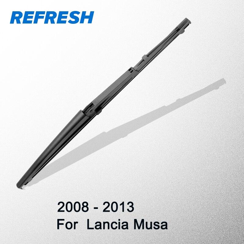 "Limpiaparabrisas trasero refrescante para Lancia Musa 13 ""2008 2009 2010 2011 2012 2013"