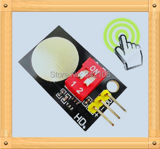 Free Shipping!!!  5pcs Capacitive touch switch / digital touch sensor module / touch sensitive buttons module sensor