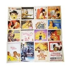 32 pièces/pack cartes de visite le film star affiche dessin ensemble de cartes postales carte de noël cartes postales cadeaux cartes de voeux vierges