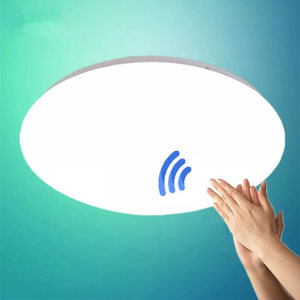 all white Surface Mount LED Ceiling Light 12/15/24W Modern LED Ceiling Light for Living Room PIR Motion Sensor Ceiling Lighting