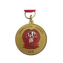 Médaille de sport à prix bas   Offre spéciale, médaille ronde de volley-ball