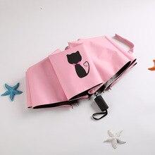 Parapluie Uv pour enfants   Clair de soleil, parapluie chat de pluie, femmes, parapluie Uv pour enfants filles, pliante, coupe-vent, Unbrella, regenschirm parapluie