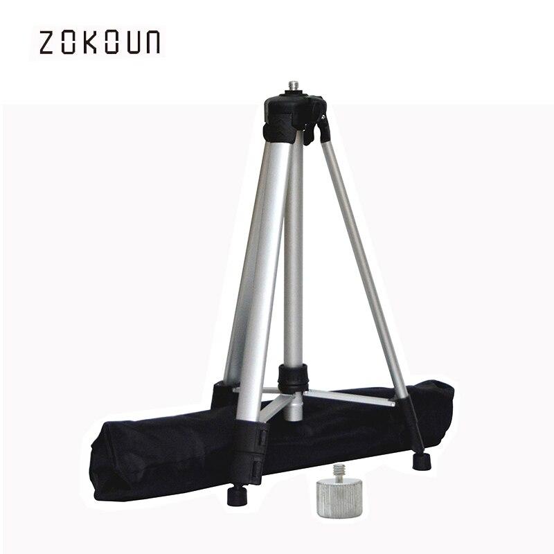 Trípode para láser de 1,5 M, altura ajustable de rosca de 5/8 a 1/4, trípode de aluminio o soporte para nivel de láser rojo o verde