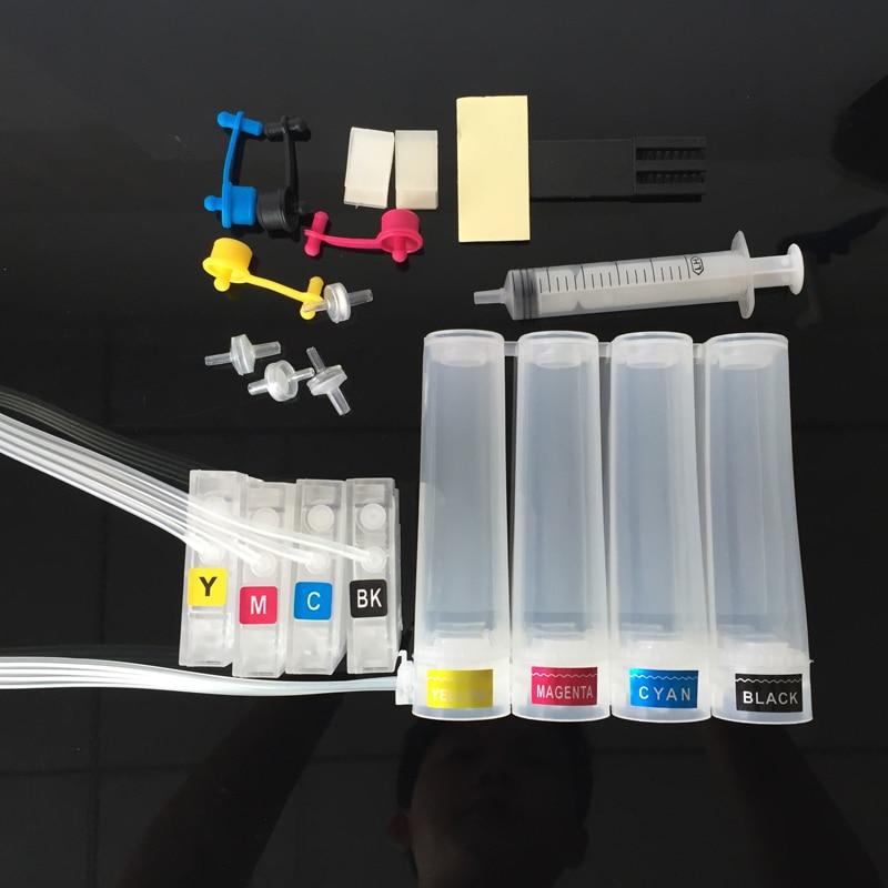СНПЧ для hp Designjet T120 T520 принтер для hp711 HP 711XL Система непрерывной подачи чернил с чипами
