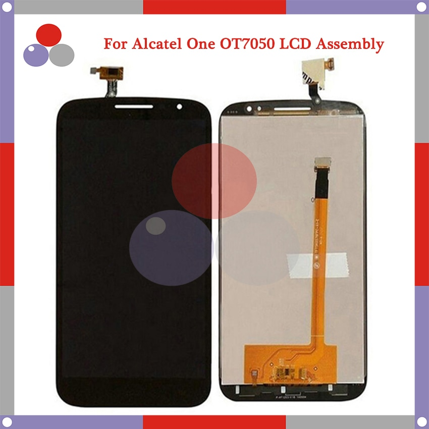 "10 unids/lote 5,9 ""para Alcatel One Touch Pop S9 OT7050Y OT7050 7050y 7050 pantalla MONTAJE DE digitalizador con pantalla táctil de reemplazo de partes"