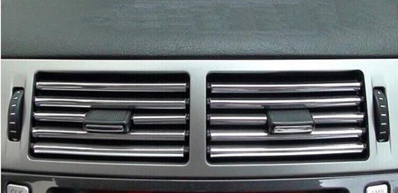 ¡Novedad! tira de salida de aire decorativa para coche de 4 metros, tira decorativa para SsangYong actyon korando kyron rexton emblema de 2 llaves para Rodius