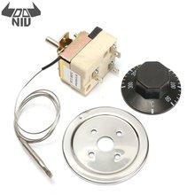DANIU микро термостат AC 250V 16A 50 до 300 градусов Цельсия регулятор температуры без NC для электрической печи