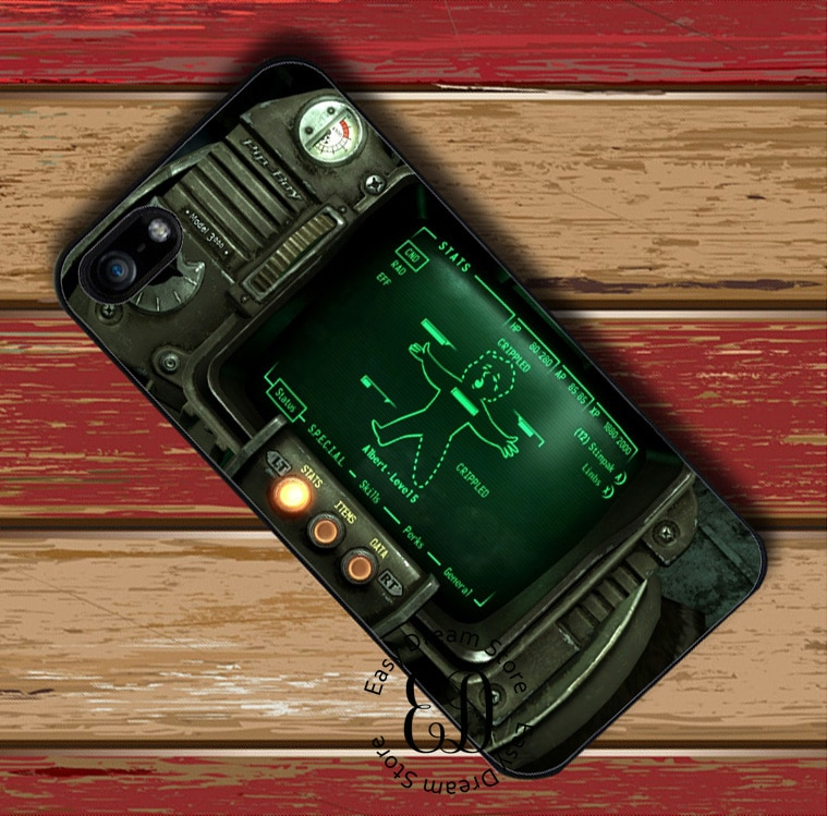 Чехол Pipboy 3000 для iphone 11 pro X XR XS Max 6 7 8 11 plus Samsung s10 E s7 s8 s9 plus note 8 9 10