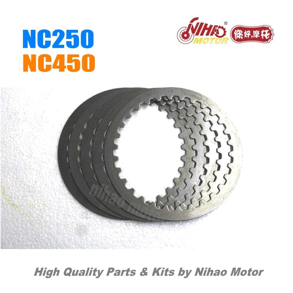 59 NC250 חלקי מצמד צלחת פלדה ZONGSHEN מנוע NC RX3 ZS177MM (Nihao מנוע) קאיו Motoland BSE Megelli Asiawing Xmoto