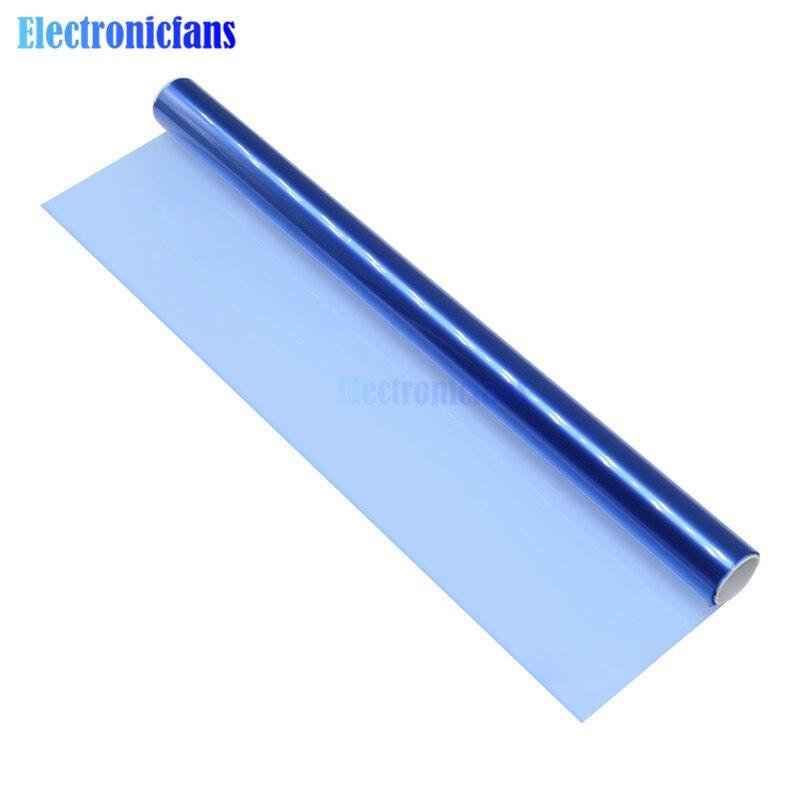 Película seca fotosensible portátil de 30CM x 1M 1M para lámina de fotoresista de circuito para revestimiento de agujeros, producción de placas de circuito impreso