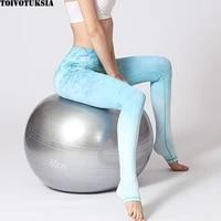 toivotuksia fashion color 3d printing women leggings spring polyester high waist long trousers original knit fitness pants