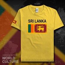 Sri Lanka Lankan hommes t shirt 2017 maillots nation équipe t-shirt 100% coton t-shirt sport vêtements t-shirts pays drapeau LKA ceylan