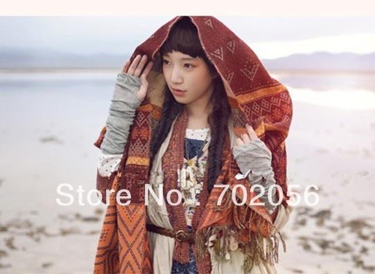 Stunning Acrylic Wrap Scarf Shawl Stole Neckerchief Women thick weight about 320g 180*70cm 10 pcs/lot #3175