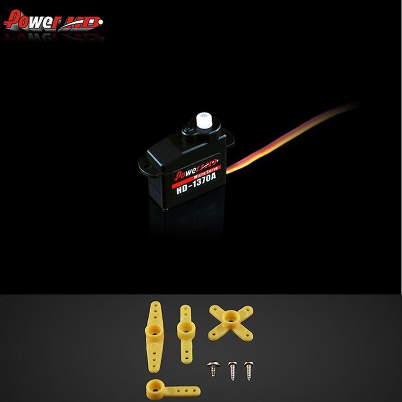 ¡Envío Gratis! 1 Uds 100% original de HD HD-1370A tamaño Micro Servo 3,7G para F3P EP200