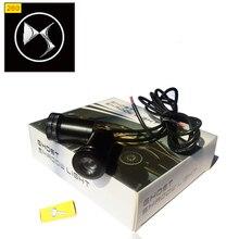2pcs 12v 10W Car LED Door Logo Lamp Auto Ghost Shadow Light cover For Citroen DS PicassoC2/C3/C4C5/C6/C8/DS3/DS4/DS5/Nemo