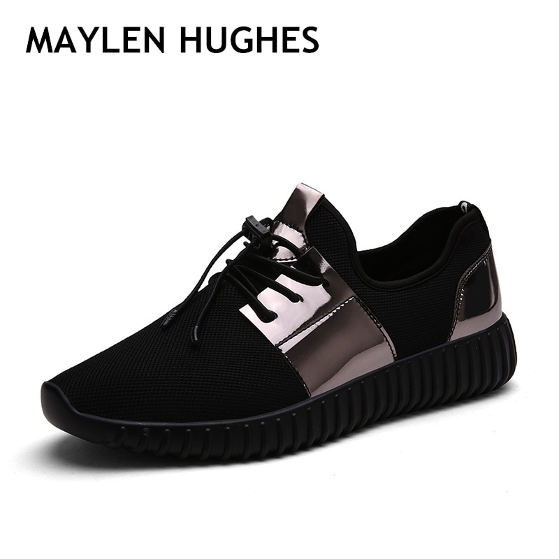 Gran oferta 2018 de zapatos para hombre, zapatillas de verano para exteriores, zapatillas Unisex de malla transpirable de alta calidad para hombre y mujer, zapatos para correr de talla grande ligera