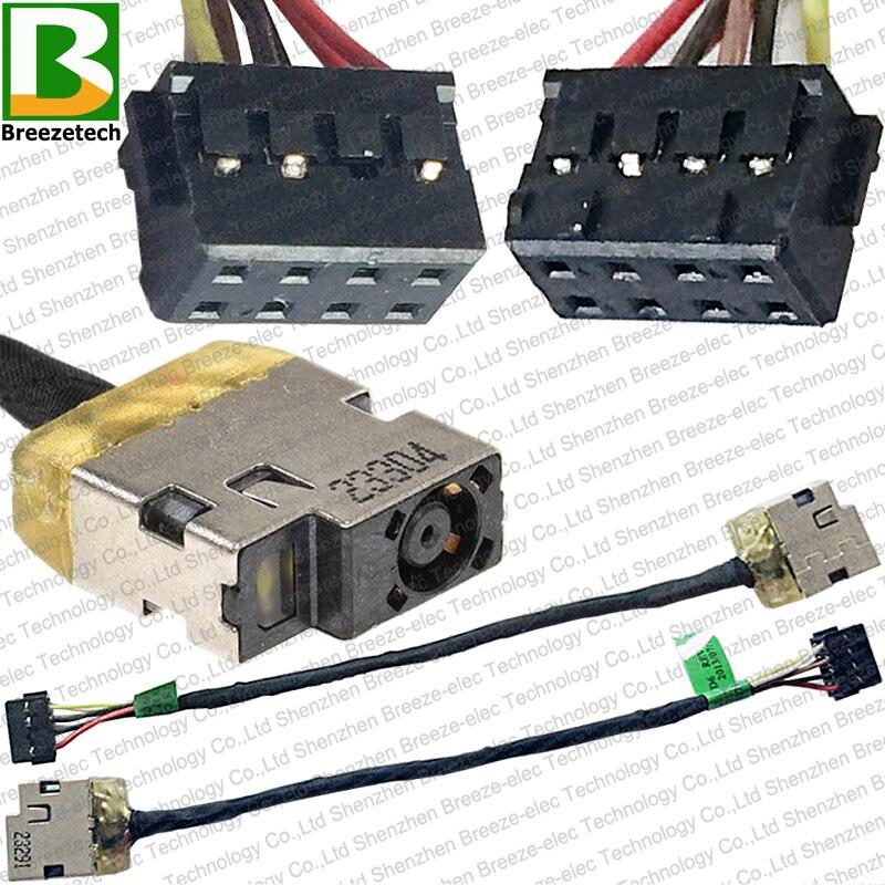 Original novo conector de tomada de cabo de tomada de tomada dc para hp touchsmart 11 11-e 14-k 14-e 210 215 g1 717370-yd6 CBL00379-0100