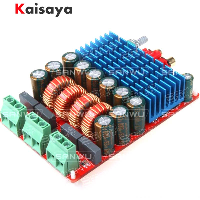 Nouveau HIFI TAS5630 amplificateur numérique stéréo Audio classe D amplificateurs carte haute puissance 2X300W Amplificador cc 25-50V F4-007