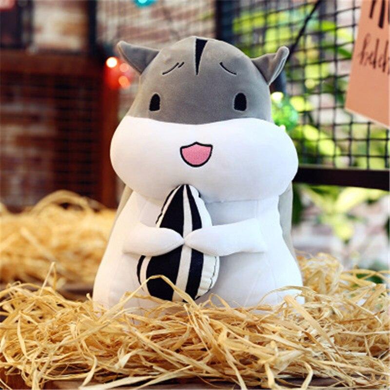 De peluche y animales de peluche suave de juguete lindo cuento de hadas de ensueño muñeco de hámster juguetes suave y cómodo para madera, muñeca de trapo, juguetes de peluche