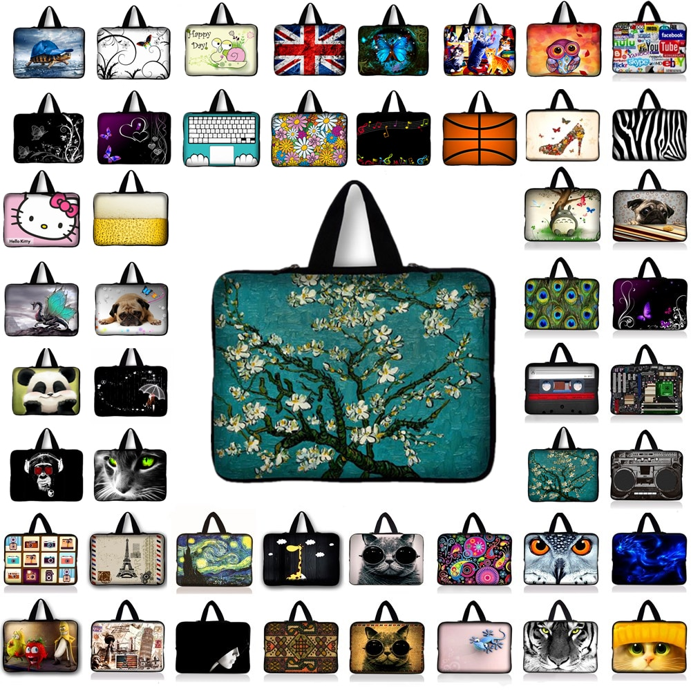 Laptop Notebook Sleeve Bag Case Cover for 7 9.7 10.1 12 13 13.3 14 14.1 15 15.6 17 17.3 inch Ultrabo