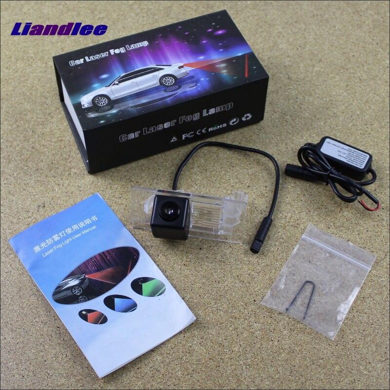 Liandlee, lámparas láser antiniebla de prevención de automóviles para VW Volkswagen Santana 1996 ~ 2005, luces de freno, luces de advertencia