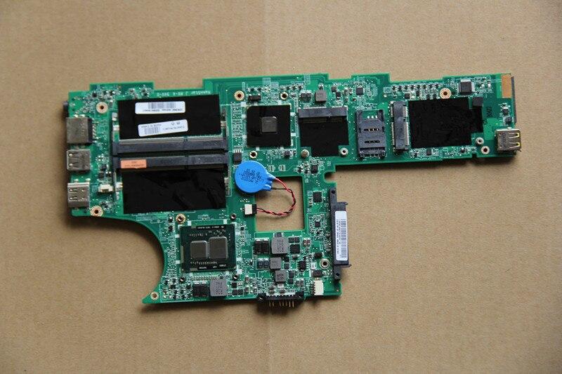 04W0314 para Lenovo Edge E10 E11 placa base de computadora portátil DA0FL6MB8D0 con I3-380UM CPU a bordo HM55 DDR3 totalmente probado perfecto trabajo