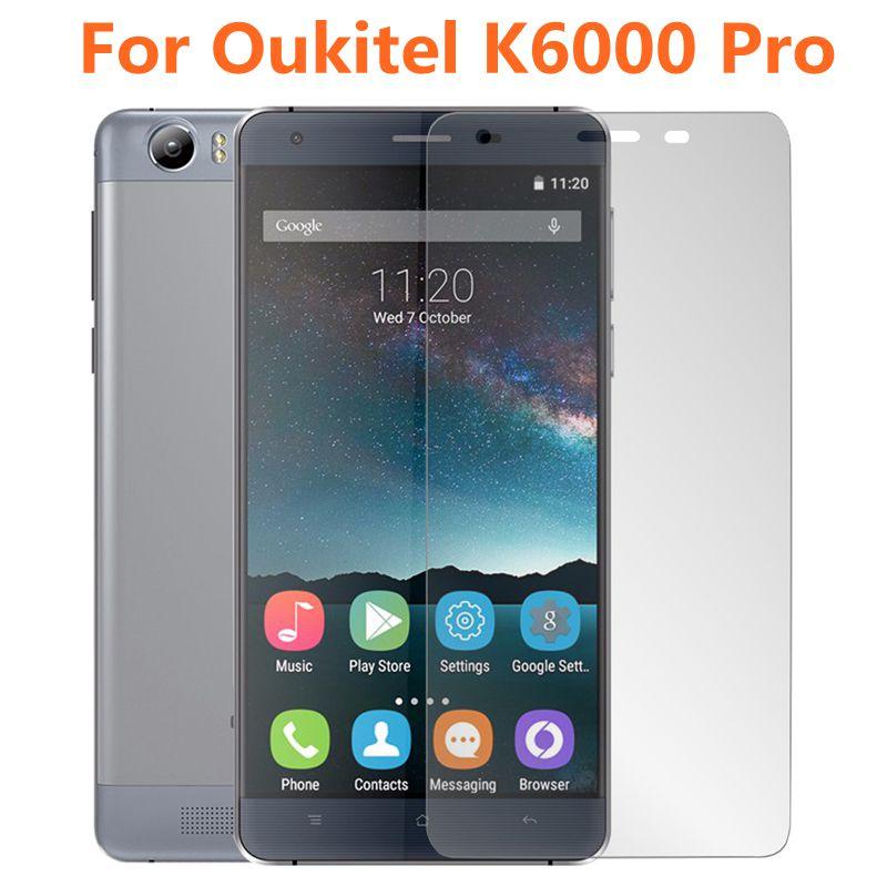 Закаленное стекло ShuiCaoRen Oukitel K6000 Pro, 9H защитная пленка, Взрывозащищенная защита для экрана для Oukitel K6000 K6000Pro