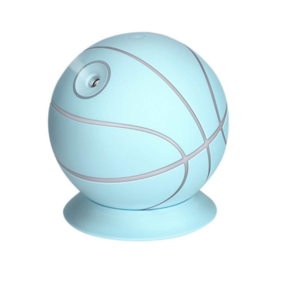 Humidificador purificador de aire para el hogar 240ml gran capacidad 35 ml/h LED silencioso Mini Oficina escritorio aromaterapia baloncesto Práctico interruptor Wit