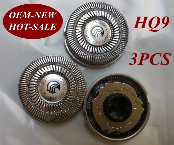 3pcs HQ9 Replacement Head razor blade for philips electric Shaver HQ9020, HQ9070, HQ9080, HQ9090,  HQ9161, HQ9190, HQ9199, PT920