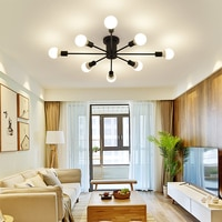 Art Deco LED Ceiling Lights creative luminaria led teto Modern Ceiling lamp for living room kids room aisle Home