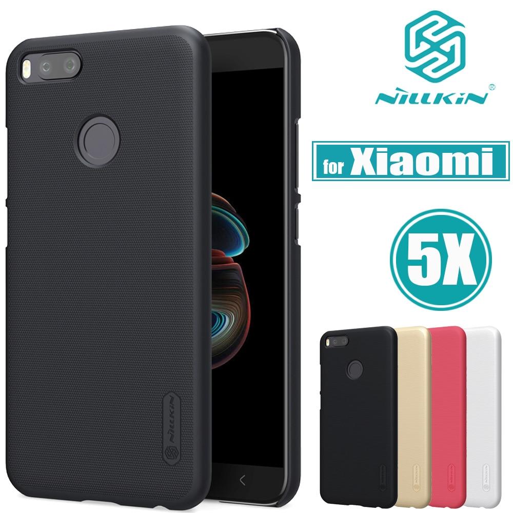 Xiaomi Mi 5X Case Xiaomi A1 Cover Nillkin Frosted Matte Shield Hard PC Plastic Phone Bag Back Cases for Xiaomi Mi5X Mi A1 Capa