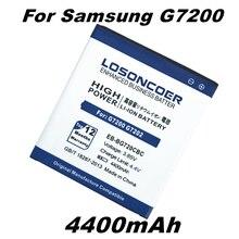 LOSONCOER 4400 mAh batería para Samsung Galaxy Grand3 G7200 G7202 G7208V G7209 Grand Max EB-BG720CBC batería