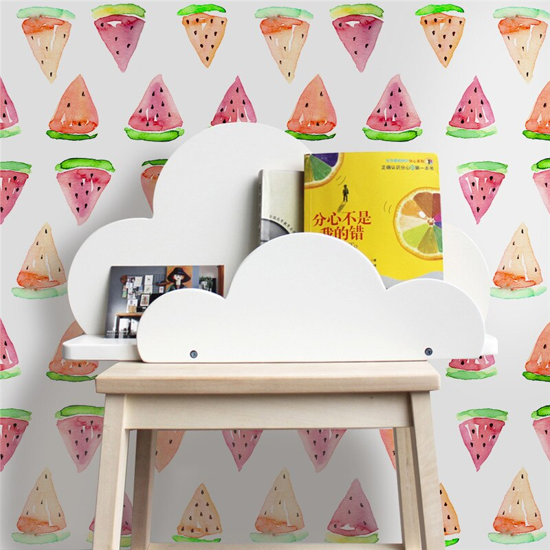 Verano caliente fruta sandía vinilo 3d pared pegatinas papel pintado para dormitorio Decoración Para sala de estar autoadhesivo Mural pegatina artística de PVC